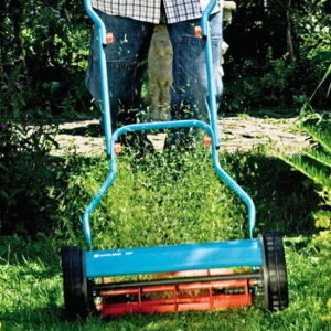 Gardena push reel mower