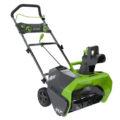 GreenWorks Cordless Snow Blower
