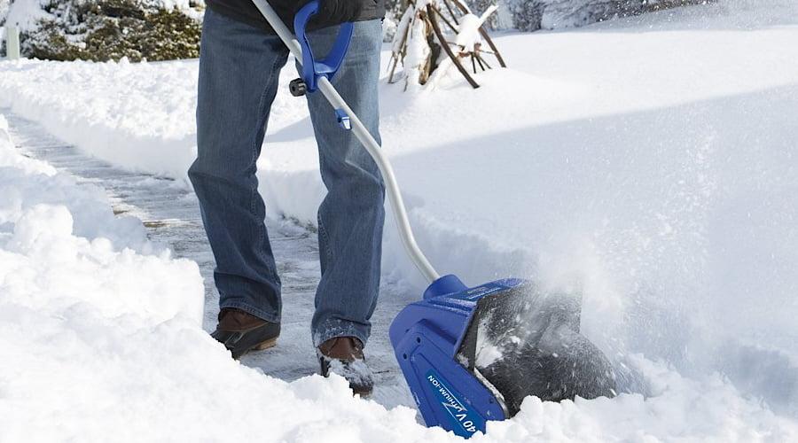 40-Volt Cordless 13-Inch Snow Shovel