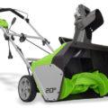 GreenWorks 20-Inch Corded Snow Blower