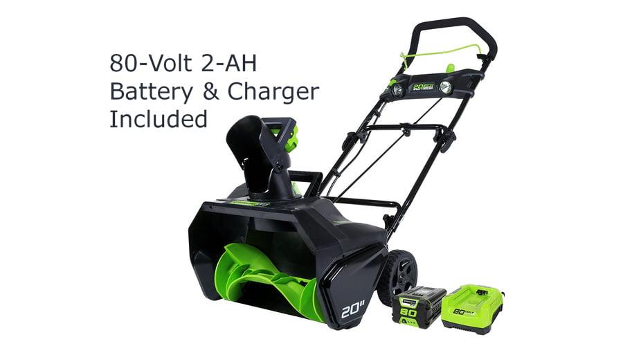 GreenWorks Pro 20-Inch Cordless Snow Blower