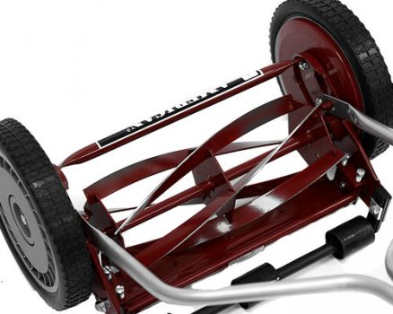 14-inch push reel lawnmower