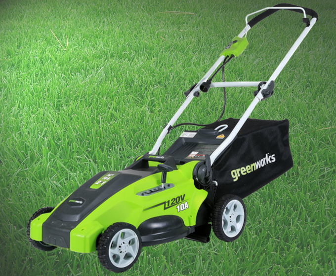 Greenworks 25142 Corded Electric Lawn Mower