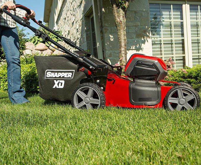 Snapper XD 82V MAX 21-Inch Cordless Push Lawn Mower