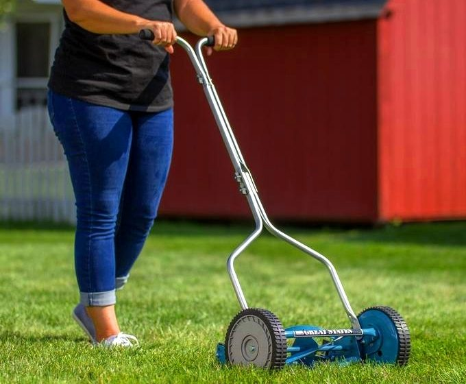 Great States 204-14 14 Inch Push Reel Lawn Mower