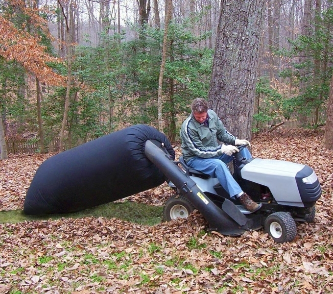 Lawn Tractor Large Leaf Bag Attachment Lawntools