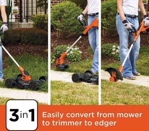 BLACK+DECKER MTC220 3-in-1 Lawn Mower