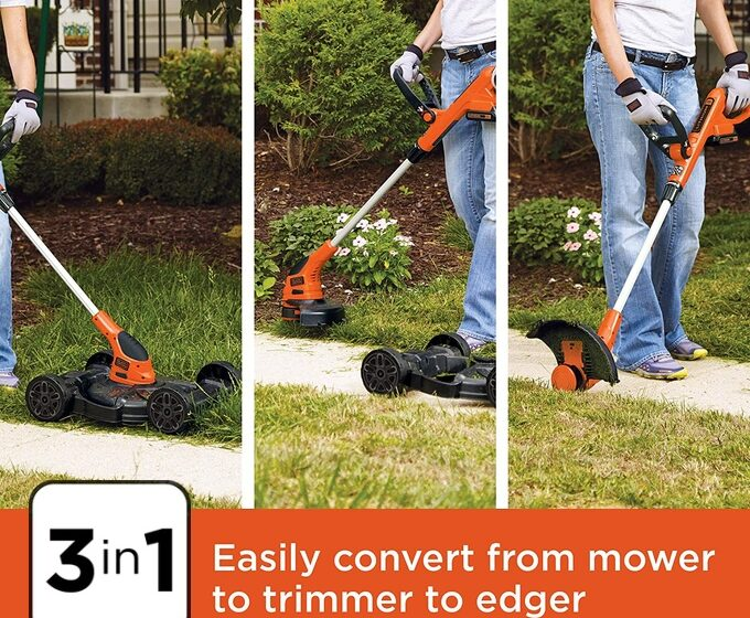 BLACK+DECKER MTC220 3-in-1 Lawn Mower