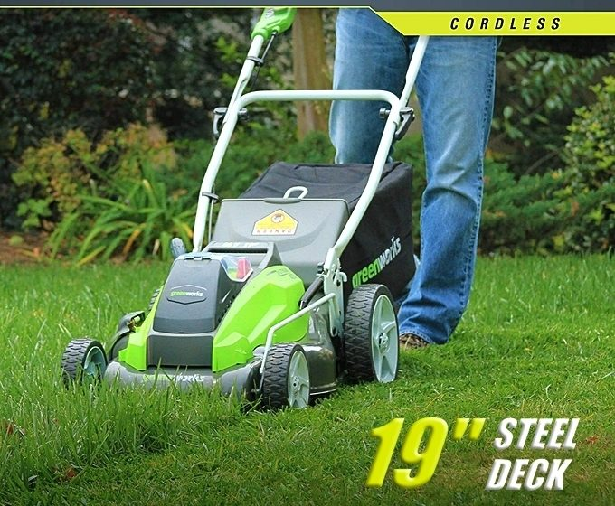 GreenWorks G-MAX 40V Cordless Lawn Mower