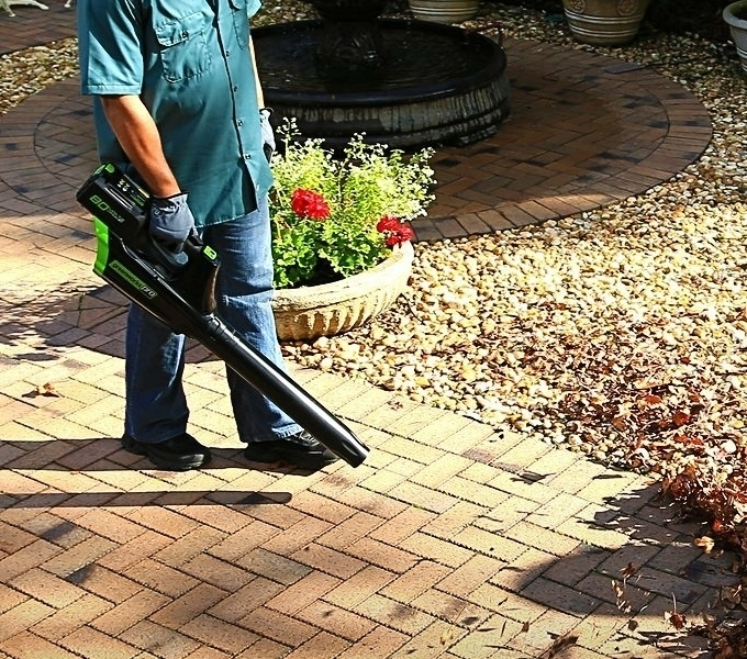 reenworks Pro 80V Cordless Brushless Axial Blower