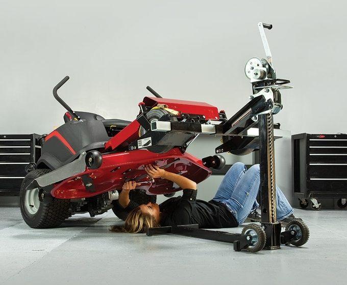 MoJack MJPRO 750-lb Riding Mower Lift