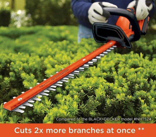 B+D LHT2436 40V Max Cordless Hedge Trimmer