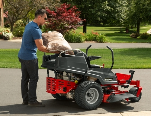 Snapper 2691319 360z ZTR Mower with Carrier