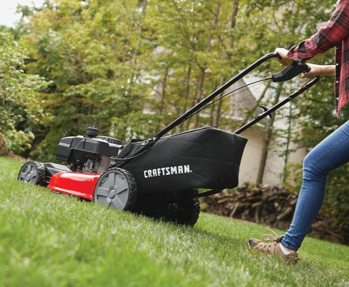 Craftsman M215 159cc 21-In FWD Lawn Mower with Bagger