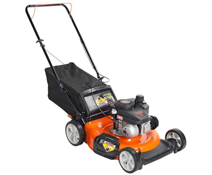 BLACK+DECKER 21 Inch 140cc 3-in-1 Lawn Mower
