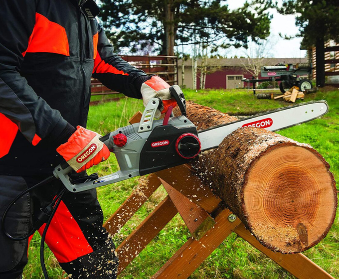 Oregon CS1500 18-In 15A Corded Electric Chainsaw
