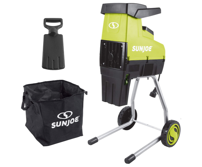 Sun Joe CJ603E 15-Amp Quiet Chipper-Shredder